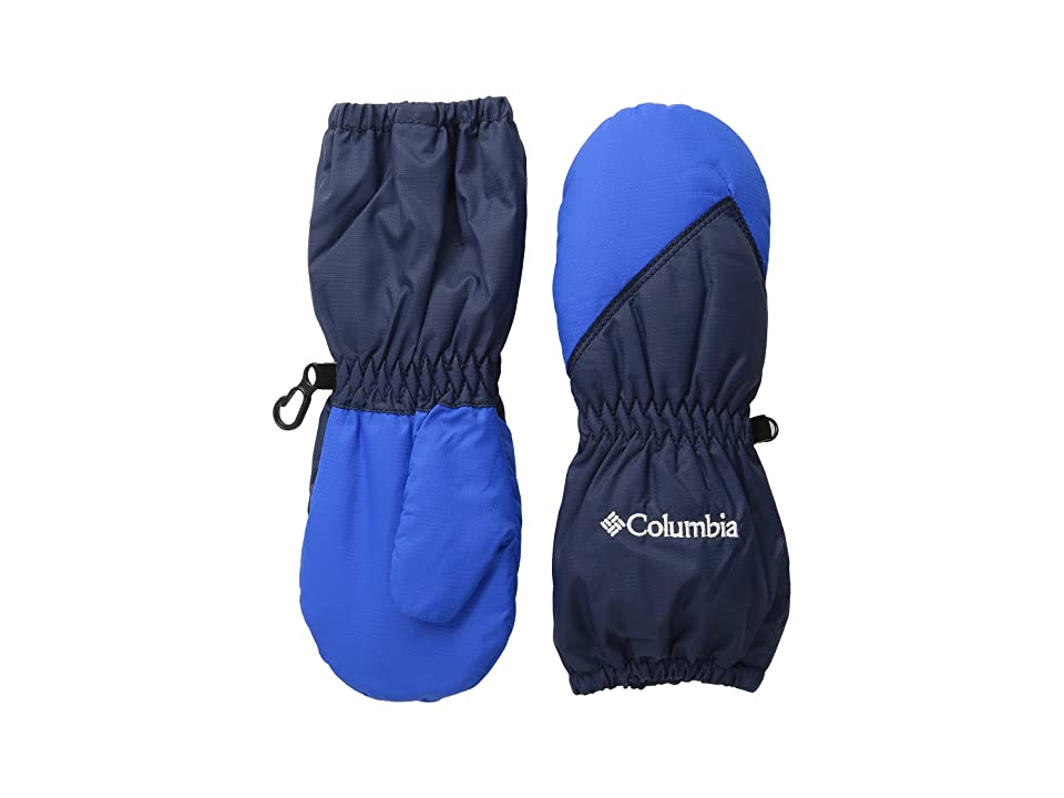 Columbia Kids Chippewatm Long Mitten (Toddler) (Collegiate Navy/Super Blue) Extreme Cold Weather Gloves