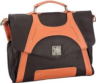 Bruno Banani Eye Catcher_3 Business Bag Womens Brown Braun (brown/orange) Size: 36x29x10 cm (B x H x T)
