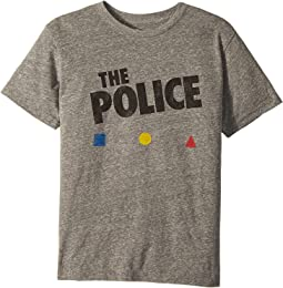 The Original Retro Brand Kids - The Police Short Sleeve Tri-Blend Tee (Big Kids)