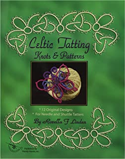 Lacis Celtic Tatting Shuttle Pointed Tip-green