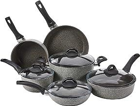 طقم أواني طهي من الألومنيوم غير القابل للالتصاق من BALLARINI 10-piece 75001-652