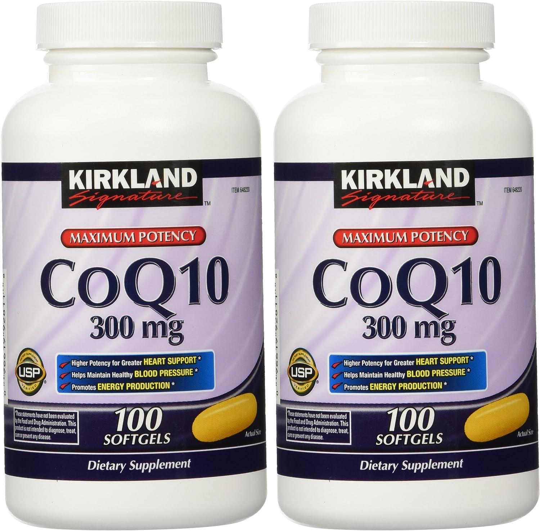 Kirkland Signature CoQ10 300 Super Max 49% OFF beauty product restock quality top Softgels 200 mg