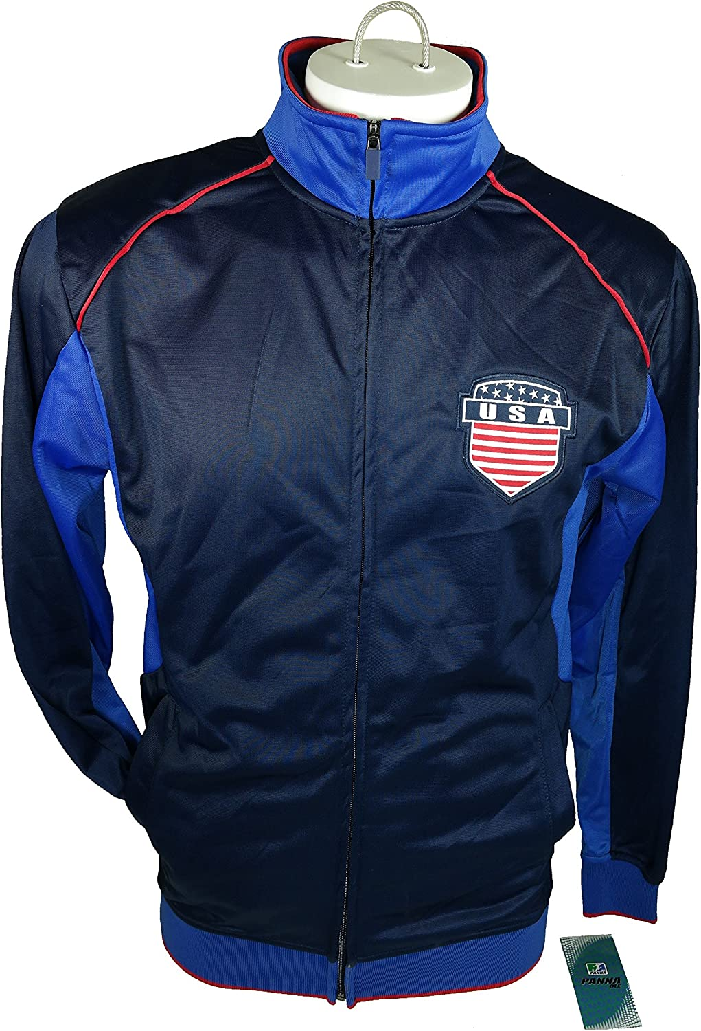 USA Soccer Official License Soccer Track Jacket Football Merchandise Adult Size 001 Extra Large