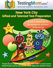 NYC Gifted and Talented Test Preparation Workbook for OLSAT and NNAT2 Level A – Pre-K and Kindergarten