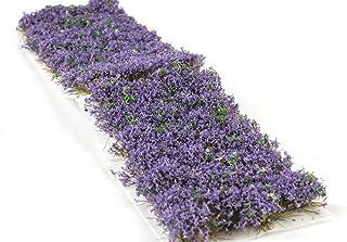 War World Gaming 6 mm Heide blommor självhäftande statisk gräslunga x 68 – modellbyggnad bordsskiva mark diorama terrängko...