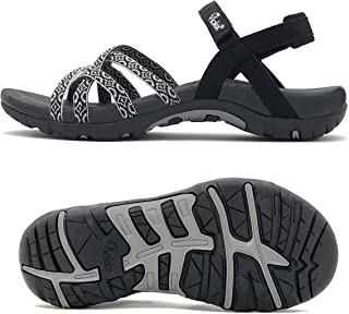 Viakix Walking Sandals for Women – Comfortable Stylish Athletic Sandals for Hiking, Water, Outdoors, Sports