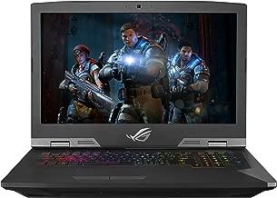 ASUS ROG G703 Desktop Replacement Gaming Laptop, 17.3in 144Hz 3ms G-SYNC,i9-8950HK Processor,Overclocked GTX 1080 8GB,32GB DDR4,2x256GB PCIe SSD +2TB FireCuda SSHD-G703GI-XS98K (Renewed)