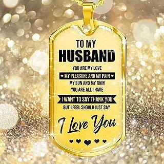 YF to My Future Husband 18K Gold