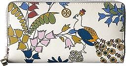 Robinson Floral Zip Continental Wallet