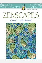 Creative Haven Zenscapes Coloring Book Paperback