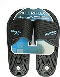 Acu-Reflex Massage Sandals. 1 Pair. ReflexologySandals. Acu-Shiatsu Sandals (M (Women 8-9))