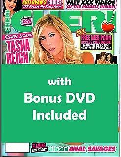 Adult Magazine Tasha Reign Faye Reagan Cheri #261 2018 with C'm on my Tits 2 Bonus DVD