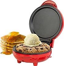 Giles & Posner® EK4215GVDEEU7 Compact Mini Snack Maker Grill - EU Plug   550 W   11.5 cm Plate   Red   Make Pancakes, Burg...