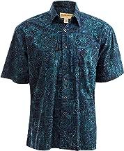 Johari West Antigua Summer Tropical Hawaiian Batik Shirt
