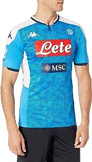 SSC Napoli Gara Home 2019/2020 från Lorenzo Unisex – vuxen, blå, M