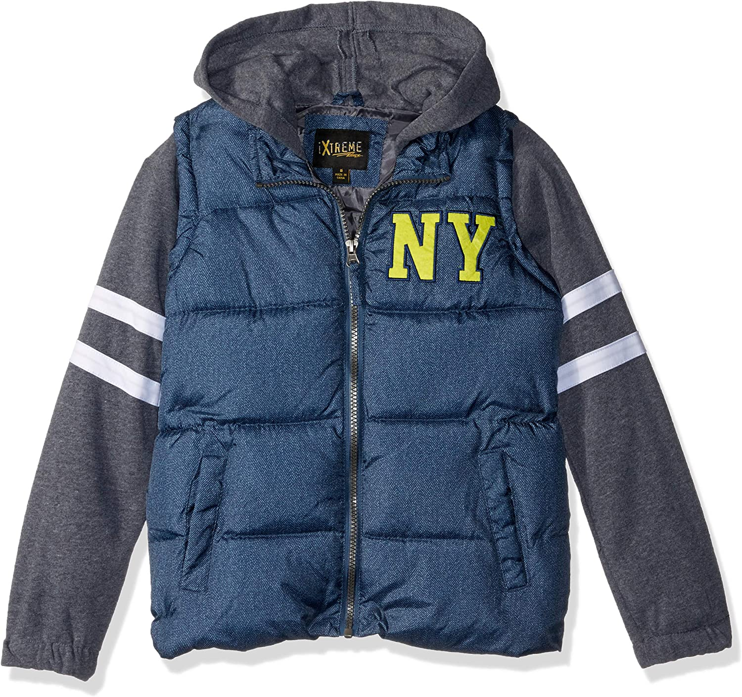 iXtreme Boys Midweight Bomber W//Patches