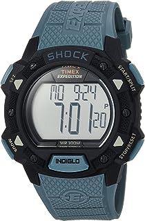 Timex de los hombres Expedición Choque digital correa de resina de gato