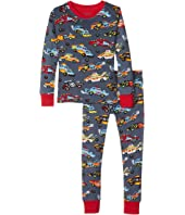 Hatley Kids - Demolition Derby PJ Set (Toddler/Little Kids/Big Kids)
