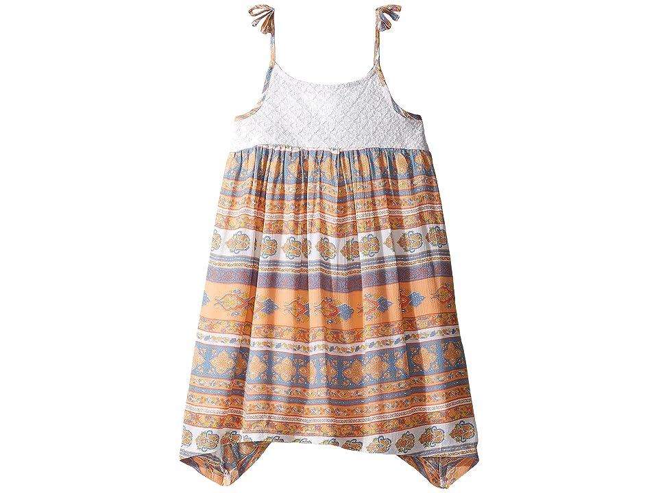 O'Neill Kids Honey Woven Tank Dress (Toddler/Little Kids) (Passion Fruit) Girl's Dress
