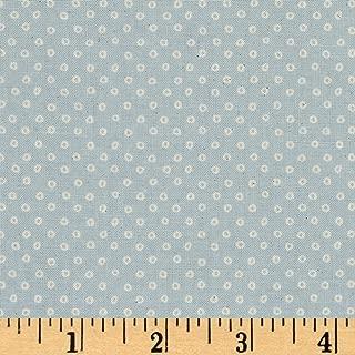 Cotton + Steel S.S. Bluebird Shibori, Natural