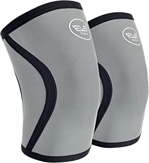ELEV8 Knee Sleeves (1 Pair) 5mm Neoprene Brace for Compression & Support - Powerlifting, Fitness, Squats, Cross Training, Circulation, Arthritis, Joint Pain � Men and Women