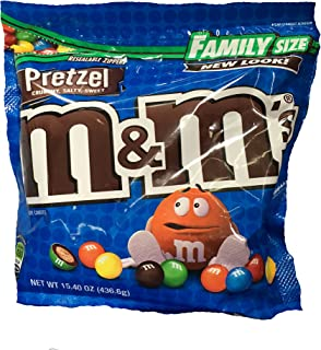 pretzel and m&m