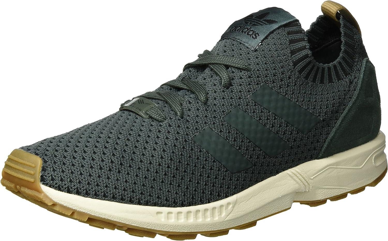 Adidas Men's Zx Flux Primeknit Low-Top Sneakers