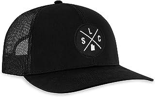 HAKA City X Trucker Hat for Men & Women, Adjustable Baseball Hat Mesh Snapback Golf Hat