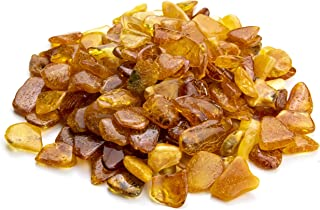 Baltic Amber Stones by Amber Culture | Mix Color, Natural, Polished Amber for Crafting, Jewelry and Paint Relief (No Holes) (20 Grams / 0.7 Ounce) SS20