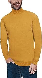 mustard turtleneck sweater men