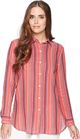 Striped Linen-Cotton Shirt