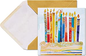 Papyrus Birthday Card (Paper Candles)