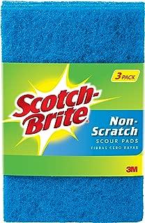 Scotch-Brite Non-Scratch Scour Pads, 3 Scour Pads