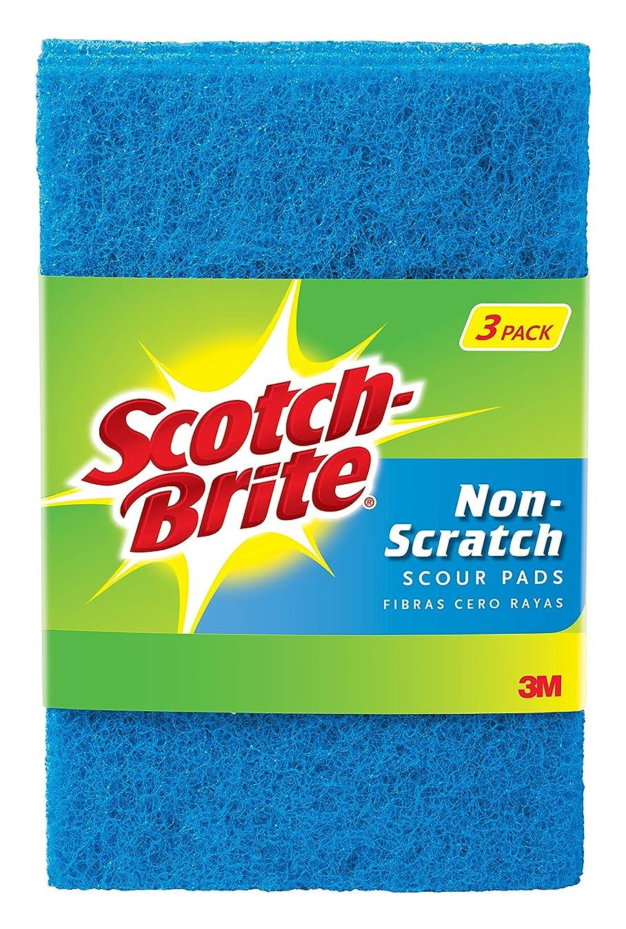 Scotch-Brite Non-Scratch Scour Pads Pack of 3