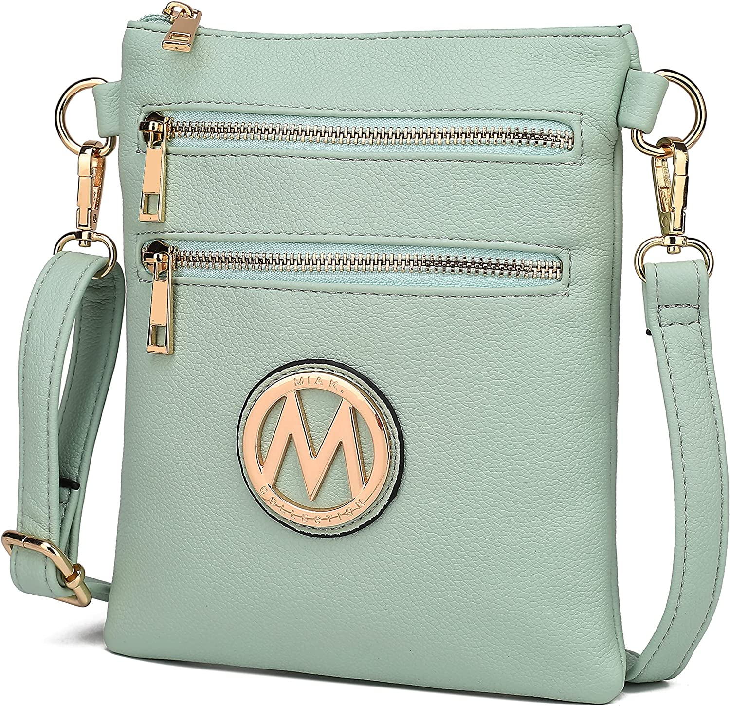 MKF Crossbody Bag for Women Our shop OFFers the best service – Desi Max 45% OFF Leather PU Strap Adjustable