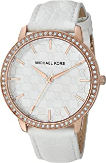 Women's Lady Nini Watch, Three Hand Quartz Movement with Crystal Bezel and White Logo dial