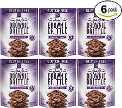 Brownie Brittle Gluten-Free Dark Chocolate Sea Salt, 5 oz, 6Count