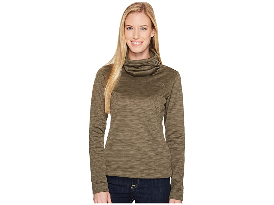 The North Face Novelty Glacier Pullover (New Taupe Green Stria) Women