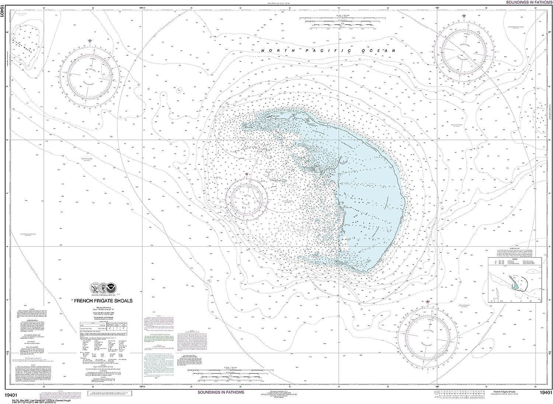 NOAA Chart 19401 French Frigate X Shoals: 34.59