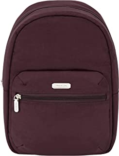 Travelon Backpack, Dark Bordeaux, 8W x 12H x 4.5D