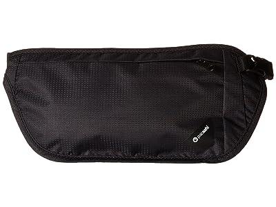 Pacsafe Coversafe V100 RFID Waist Wallet (Black) Wallet Handbags