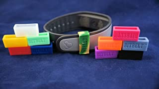 Bitbelt 12 Pack (One of Every Color, 3 That Glow in The Dark!) Protect Your Magicband (Includes 2.0), Fitbit Charge, HR, Garmin Vivofit
