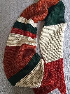 Bufanda de 4 colores, larga,suave moderna y calentita, de doble cara