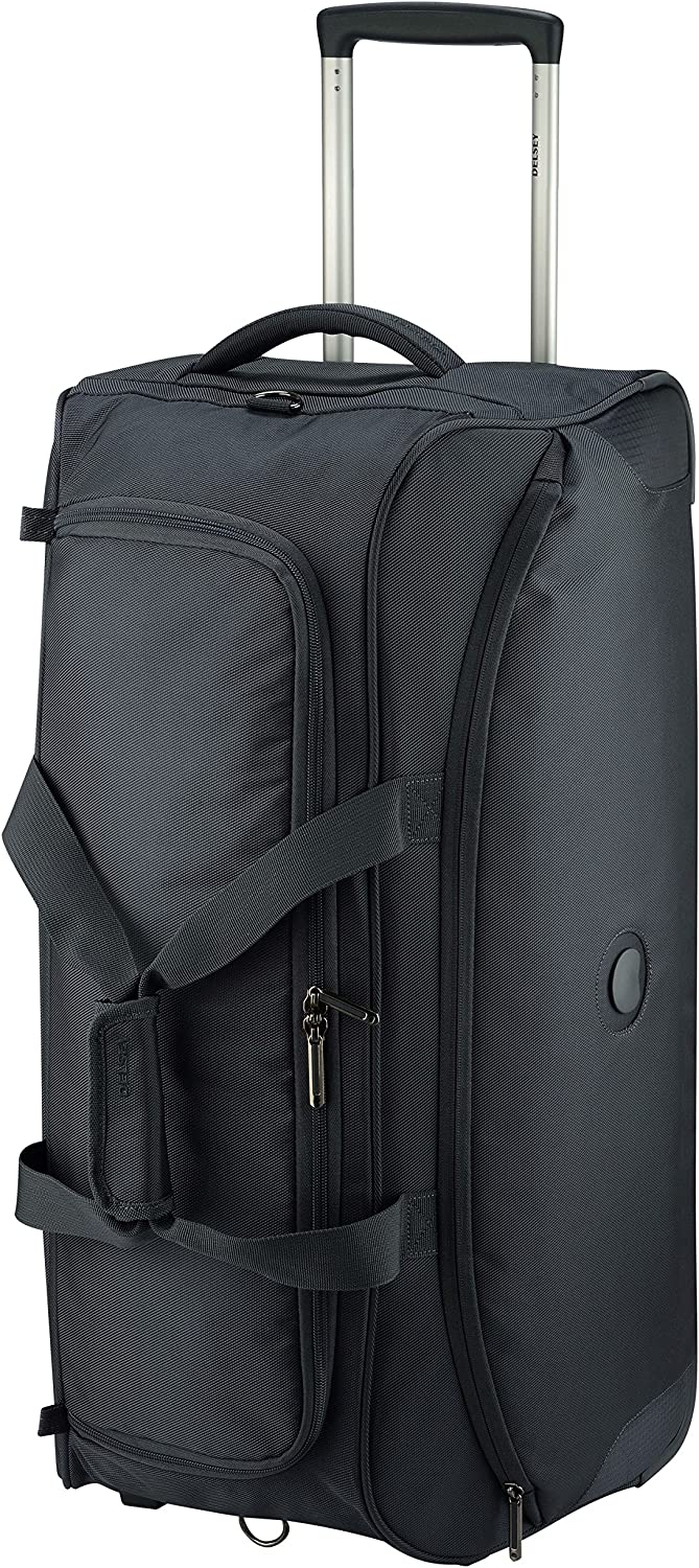 Delsey Paris Valise Trolley Cabine 4 Roues Anthracite Ulite Classic 2 55 cm 37 L