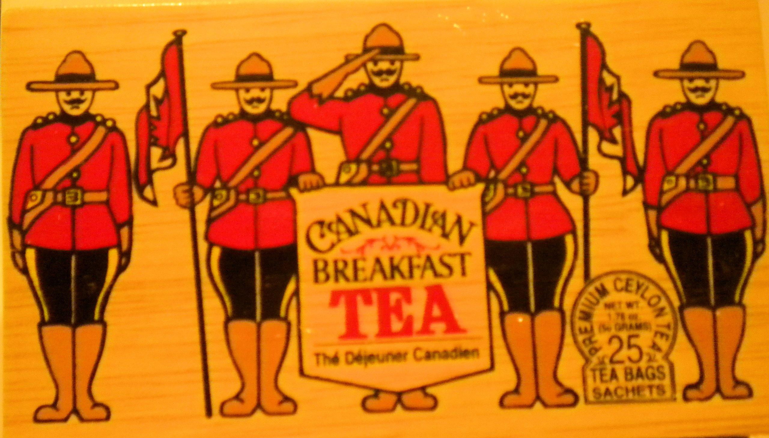 RCMP Canadian Breakfast Tea String