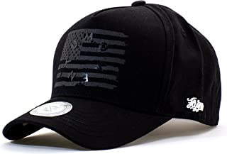 9bf80a8e4f2 ONTOO Baseball Cap American Flag Hat USA Snapback Patriotic Cotton  Strapback One Size Fits Most Adjustable
