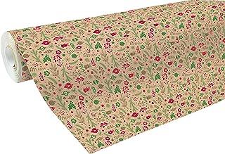 Clairefontaine 211725C - Une bobine papier cadeau Kraft recyclé 50mx70 cm 70g, Décorations de Noël