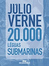 20.000 Léguas Submarinas: Texto adaptado (Júlio Verne) (Portuguese Edition)