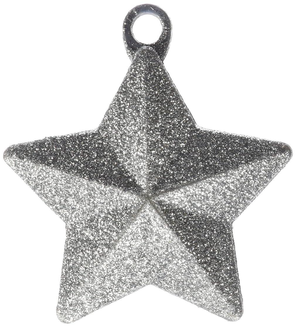Anagram International Glitter Star Weight, 170g, Silver
