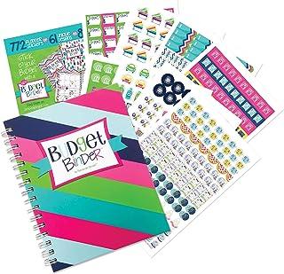 $29 » Budget Binder™ 12-Month Budget Planner with Pockets + Sticker Set | Expense Tracker | Undated Monthly Bill Organizer | Per...